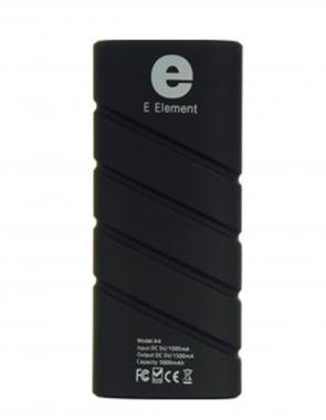 Внешний акб E-element 1S Power bank 2800 мАч черный