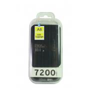 Внешний аккумулятор E-element A6 Power bank 7200 мАч черный