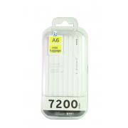 Внешний аккумулятор E-element A6 Power bank 7200 мАч белый