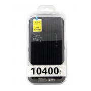 Внешний аккумулятор E-element A10 Power bank 10400 мАч черный