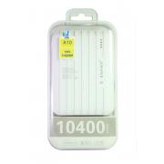 Внешний аккумулятор E-element A10 Power bank 10400 мАч белый