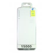 Внешний аккумулятор E-element S6 Power bank 15000 мАч белый