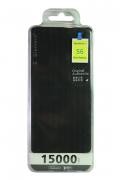 Внешний аккумулятор E-element S6 Power bank 15000 мАч черный