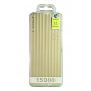 Внешний аккумулятор E-element S6 Power bank 15000 мАч золотой