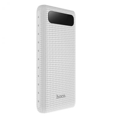 Внешний аккумулятор Hoco B20A-20000 Mige Series белый, с дисплеем 20000 мАч