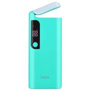 Внешний аккумулятор Hoco B27-15000 мАч, со встроенной настольной лампой, цвет голубой