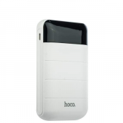 Внешний аккумулятор Hoco B29-10000 белый, с дисплеем 10000 мАч