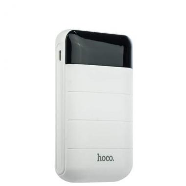 Внешний акб Hoco B29-10000 белый, с дисплеем 10000 мАч