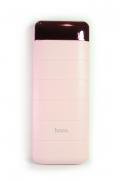 Внешний аккумулятор Hoco B29A-15000 Power bank розовый, с дисплеем 15000 мАч