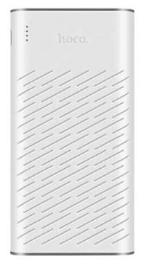 Внешний аккумулятор Hoco B31A-30000 мАч Rege series белый
