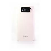 Внешний аккумулятор Hoco UPB05 Power bank 10000 мАч белый с LCD дисплеем