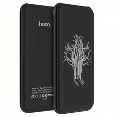 Внешний аккумулятор Hoco J10-10000 черный Artifical Inteligence