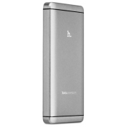 Внешний аккумулятор Hoco UPB03-12000 серый Power bank 12000 мАч