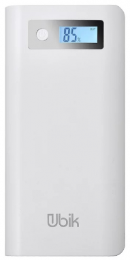 Внешний аккумулятор Ubik UPB07 емкостью 20800 мАч белый