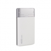 Внешний аккумулятор WST DP661 Power bank 4000 мАч белый