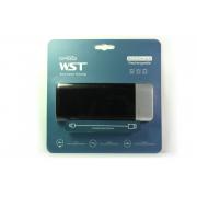Внешний аккумулятор WST DP662 Power bank 6000 мАч черный