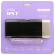 Внешний аккумулятор WST DP663 Power bank 9000 мАч черный